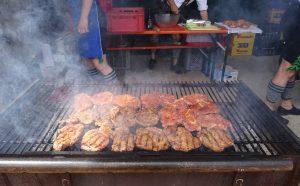 Wildburger auf dem Grill
